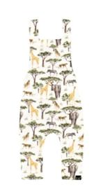 Salopette olifant/giraf