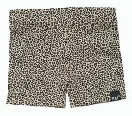 Panter sand korte omslag broek