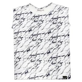 Marble wit hemd