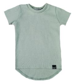 Mini knit mint groen t-shirt