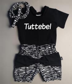 Tuttebel/ zebra strik bloomer