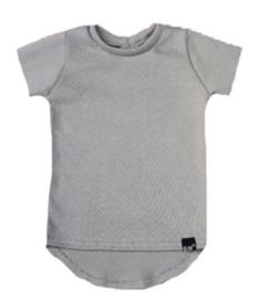 Mini knit grijs t-shirt