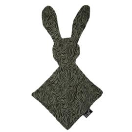 Knuffel bunny tijger groen