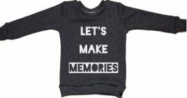 Let's make memories sweater