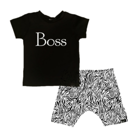 Boss/ tijger wit korte baggy