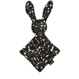 Knuffel bunny verf zwart