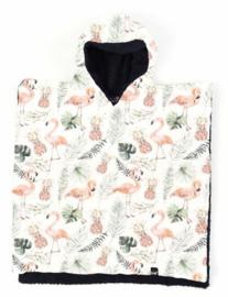 Flamingo poncho