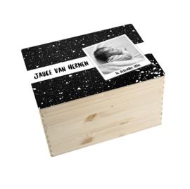 Geboorte/herinnerings kist verf