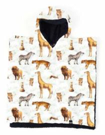 Animals poncho