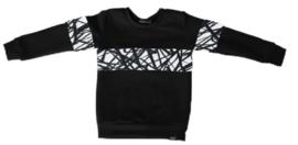 Zwart met only shirt
