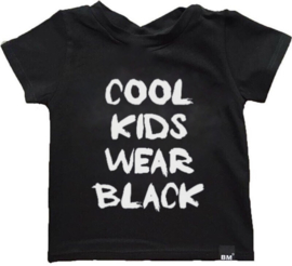 Cool kids wear black tshirt