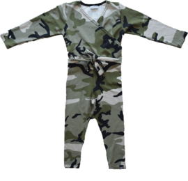 Camo green jumpsuit