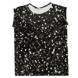Verf zwart hemd