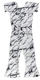 Wit marble flared jumpsuit
