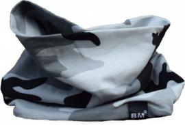 Camo grey scarf