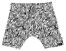 Tijger wit korte broek