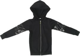Zwart/marble vest