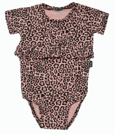 Roes bodystock panter roze