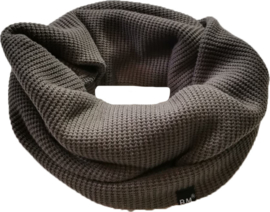 Col knit taupe