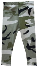 Camo green legging