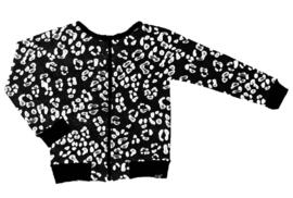 Panter zwart wind dicht/ water afstotende jas