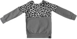 Half panter grijs/grijs shirt