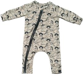 Dino sand onesie