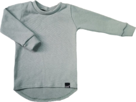 Mini knit oud groen shirt