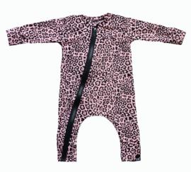Panter roze onesie