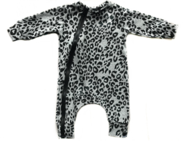 Onesie panter grey
