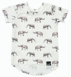 Olifant long t-shirt