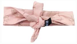 Flamingo roze knoop haarband