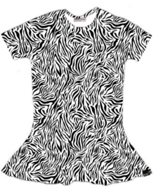 Tijger wit jurk