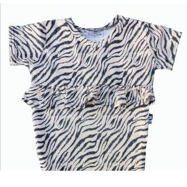 Tijger sand roes lijfje t-shirt
