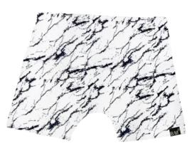 Marble wit korte broek