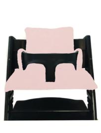 Roze stokke kussen set
