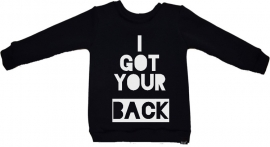 I got your back sweater