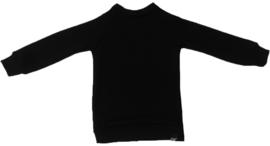 Zwart raglan trui
