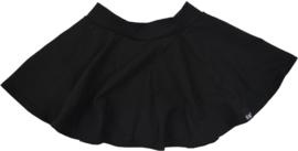 Zwart cirkel rok inclusief haarbandje
