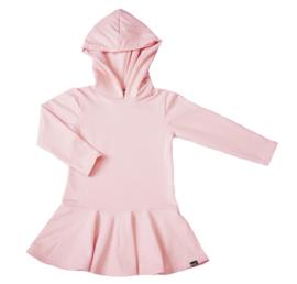 Roze roes jurk