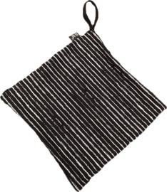 Zwart streep speendoekje