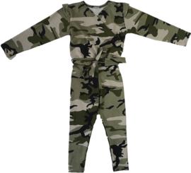 Camo groen jumpsuit