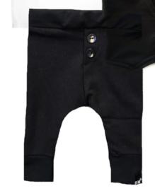 Zwart broek knoopjes
