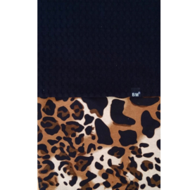Panter crib blanket