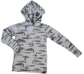 Kroko long hoodie