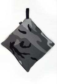 Camo grey pacifier cloth
