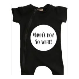 Mama's boy t-shirt/ short onesie