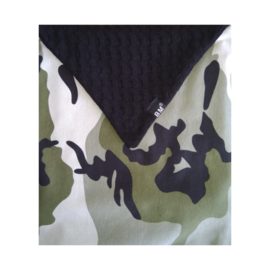Camo green diaper envelope