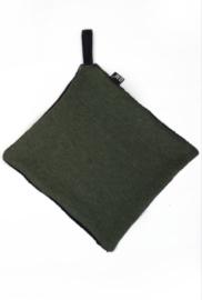 Groen speen/knuffel doekje