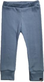 Mini rib blauw broek
